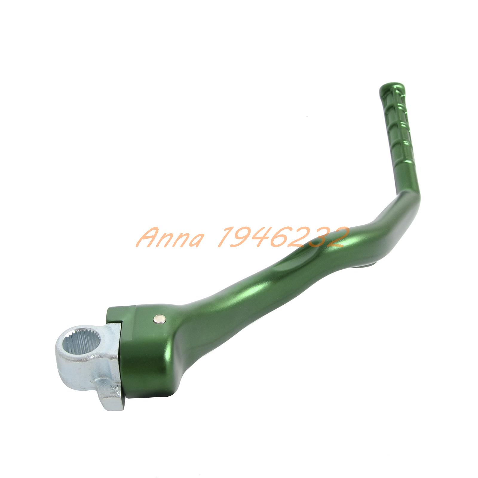 Motorcycle Forged Kick Start Lever Starter for Kawasaki KX250F 2013 2014 2015 2016 forged kick start lever starter for kawasaki kx450f 2007 2015