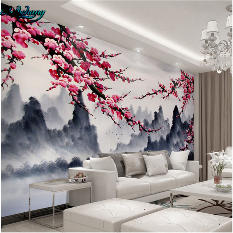 chinese landscape wallpaper murals promotion-shop for promotional