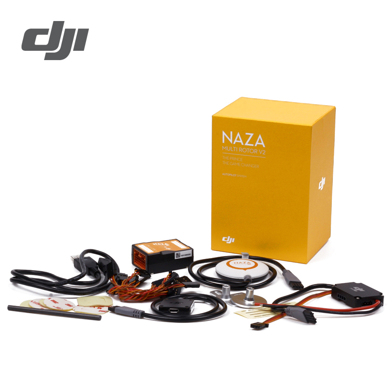 DJI Naza V2 Flight Controller ( Includes GPS )Naza-M Naza M V2 Fly Control Combo For RC FPV Drone Quadcopter Original Accessory