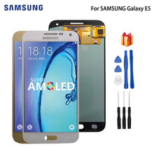 купить AMOLED For SAMSUNG Galaxy E5 LCD Display Touch Screen Digitizer Display For Galaxy E5 E500 E500M E500F E500H Screen LCD Display дешево