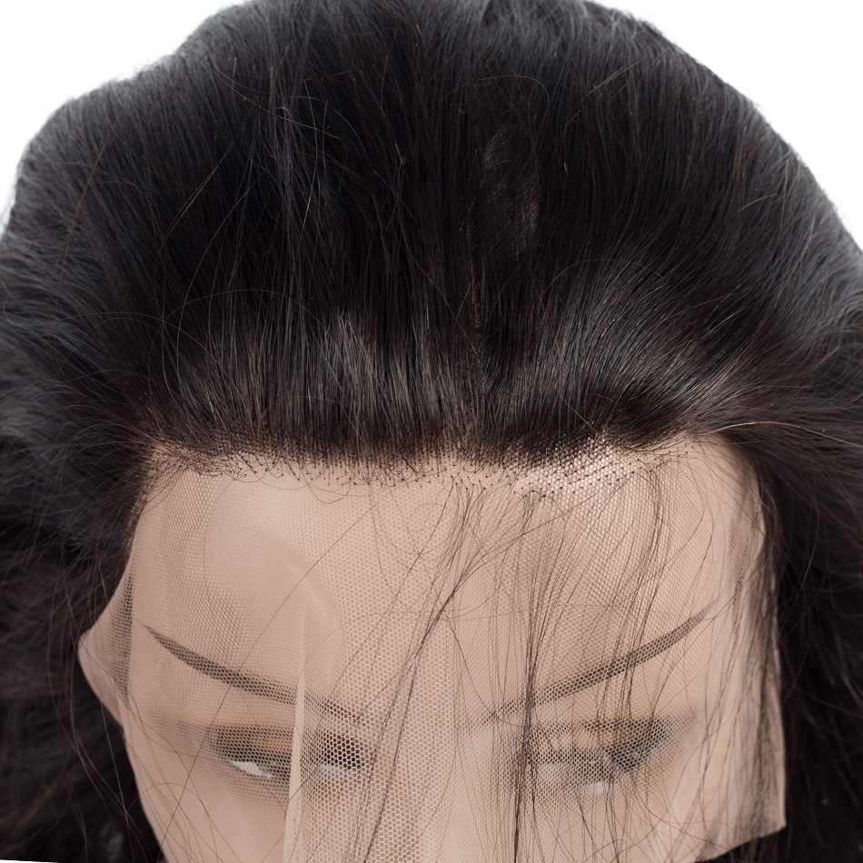 Cambodjaanse Body Wave 360 Kant Frontale Sluiting Met 3 Bundels 100% Human Hair Bundels Met 360 Sluiting Baby Haar Queena mode