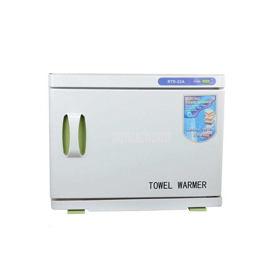 23L Towel UV Sterilizer Machine Beauty Parlour Barber Towel Warmer Clothing Underwear Ultraviolet UV Disinfection Cabinet KA-23A