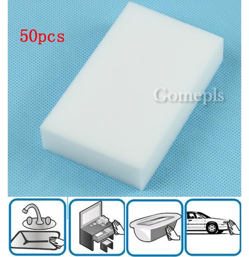 50PCS/LOT Car Auto Magic Multi Sponge Clean Foam Cleaner Cleansing Eraser Wash Kitchen Wholesale Drop shipping