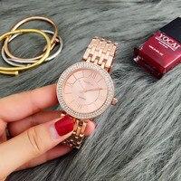 CONTENA розовое золото часы для женщин часы роскошный браслет для женщин часы женские часы со стразами montre femme reloj mujer