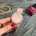CONTENA часы из розового золота Женские часы роскошные женские часы стразы женские часы montre femme relogio feminino