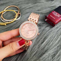 CONTENA Rose Gold Watch Women Watches Luxury Women's Watches Rhinestone Ladies Watch Clock montre femme relogio feminino