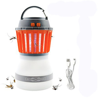 LED Camping Lantern Night Light USB Rechargeable Waterproof Compact Bug Zapper Mosquito insect Killer