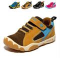 2016 otoño zapatos de los niños niñas niños zapatos niños zapatillas de deporte de cuero de la marca zapatos de deporte los niños zapatillas de deporte