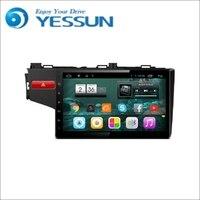 Yessun Android Радио dvd плеер для Honda Jazz 2014 ~ 2016 стерео Радио мультимедиа GPS навигации с WI FI Bluetooth am/fm