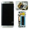 Substituição 100% original display lcd com frame para o samsung galaxy s7 edge g935f g935i fd digitador da tela de toque à prova d' água
