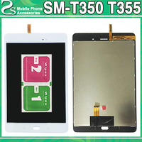 For Samsung Galaxy Tab A T355 SM T355 T350 LCD Display +Touch Screen Digitizer Sensor Panel Assembly Replacement