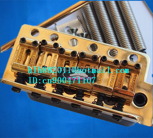 free shipping new single wave electric guitar wilkinson bridge WVCSB  in gold 8351 free shipping wilkinson lic vintage single coil pickup fit mwvsn m b