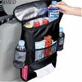 Multifunction Universal Mummy Baby Diaper Nappy Fabric Storage Organizer Bag Car Back Seat Hanging Bag Auto Travel Accessories