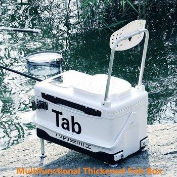 Tab caja de pesca ultraligera caja de aislamiento térmico multifuncional de alta capacidad puede levantar la caja de pesca A9006YPC