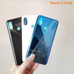 Image 3 - XIAOMI המקורי זכוכית סוללה כריכה אחורית מקרה עבור Xiaomi 8 Mi8 Mi8 SE Mi 8 SE Mi8 SE החלפת אחורי דיור מקרה