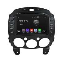 8 in dash Android Car DVD Player with 3g/wifi/BT GPS,Audio Radio Stereo,Car PC/multimedia headunit for Mazda 2 2010 2011 2012