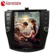 цена на Asvegen 10.4 inch Vertical Screen Android Car Dvd player For Honda Accord 2003-2007 GPS 4G WIFI BT Radio Stereo Navi Multimedia