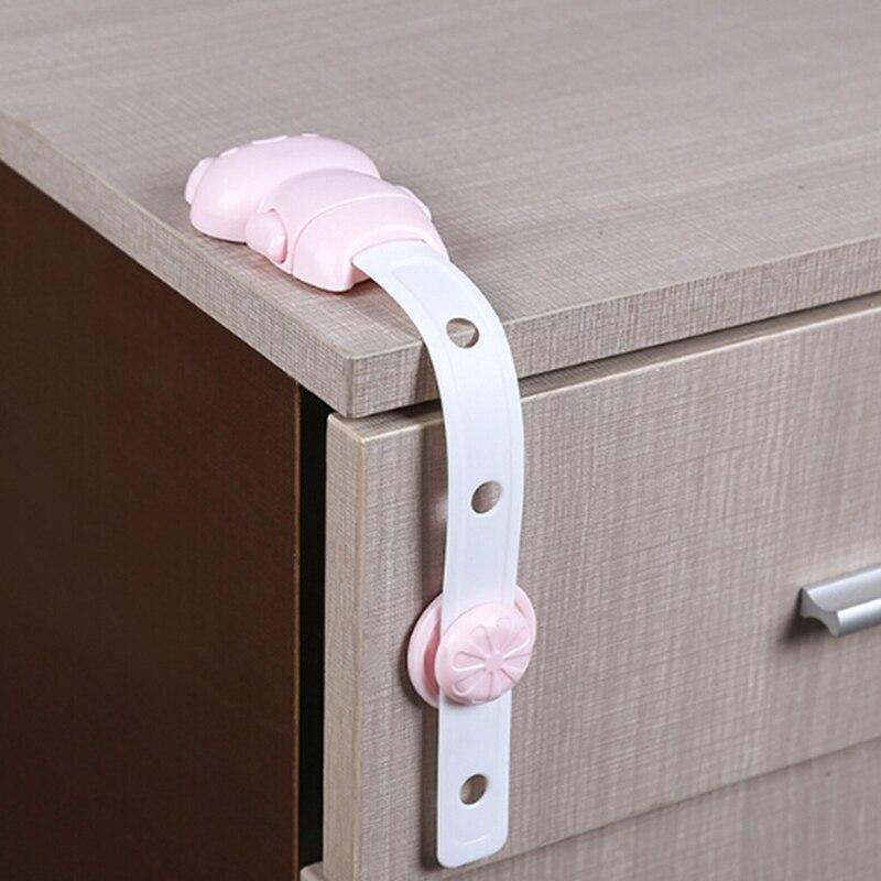Good Quality Cartoon Bear Child Lock Baby Safety Cabinet Lock Children Protection Kids Drawer Locker Safety Cabinet Childproof