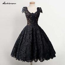e60a4f5e533b3 Siyah Dantel Mezuniyet Elbiseleri Promosyon- Tanıtım ürünlerini al Siyah  Dantel Mezuniyet Elbiseleri Aliexpress.com'da