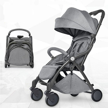 Automatic light-weight cart, lightweight folding, sitting and reclinin