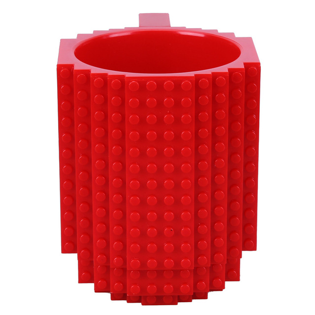 Building Bricks Decorated Cup