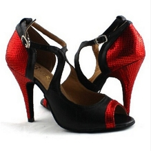 Professional Top Quality Latin Dance Shoes Women Lady High Heel Ballroom/Salsa/Tango Shoes