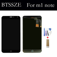 For Meizu M1 Note High Quality Lcd Display Touch Screen Glass Panel Sensor TP Assembly For