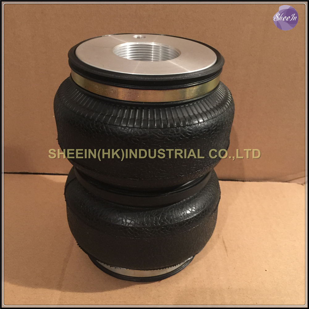 ФОТО SN142187BL2-KS( Fit ksport M52*1.5)Double convolute airspring/airbag shock absorber/pneumatic/Airride/air suspension/air bellow