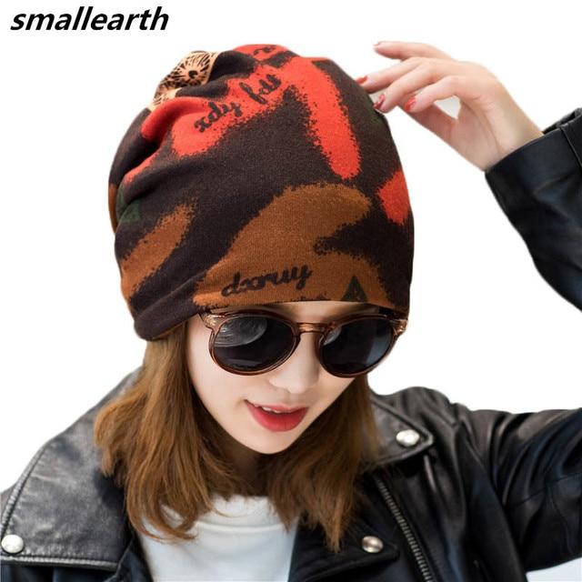 Women Men Casual Skullies Beanies Fashion Winter Hats Cap Female Male  Cotton Warm Elasticity Hats Spring Head Wear Hat Accessory 9077d74020