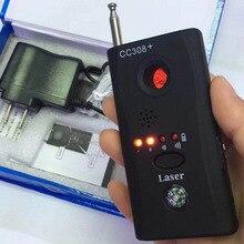 Полный спектр анти-шпионский детектор ошибок мини-камера RF скрытый шпионский сигнал детектор GSM устройство искатель конфиденциальности защита безопасности