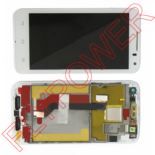 ФОТО For HUAWEI Ascend D1 U9500 lcd Display Touch Screen Digitizer Replacement Assembly White By Free Shipping