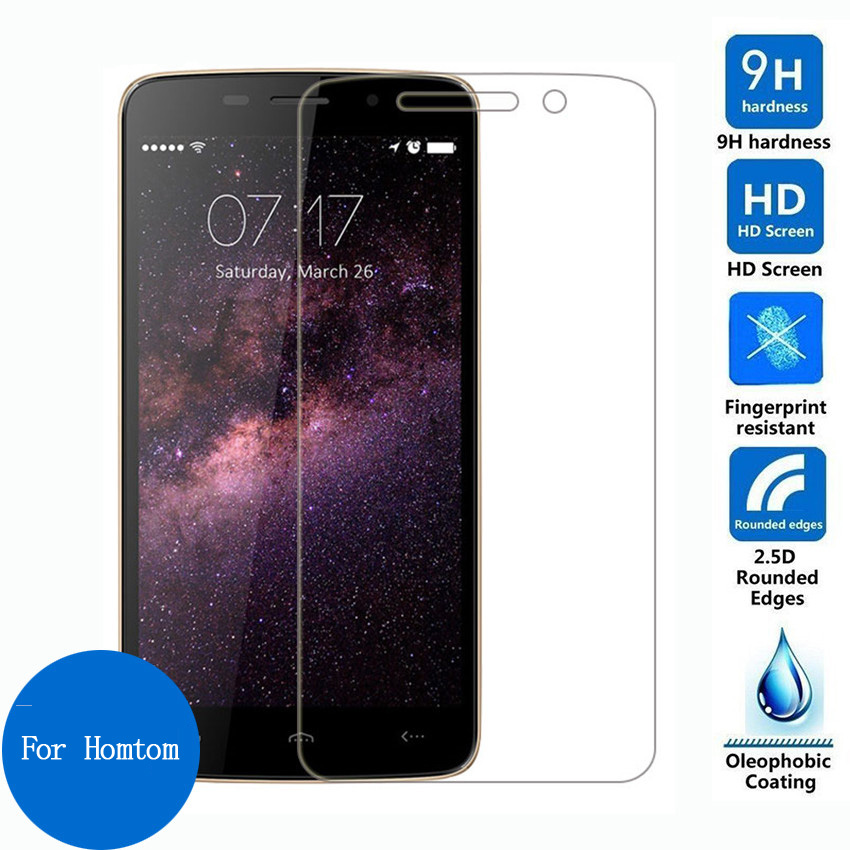 9H Tempered Glass For Doogee for Homtom HT17 HT7 HT6 HT3 PRO HT4 Protective Film Screen Protector(China)