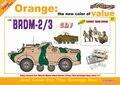 Dragon model 9137 1/35 BRDM-2/3 w/Soviet Tank Crew plastic model kit