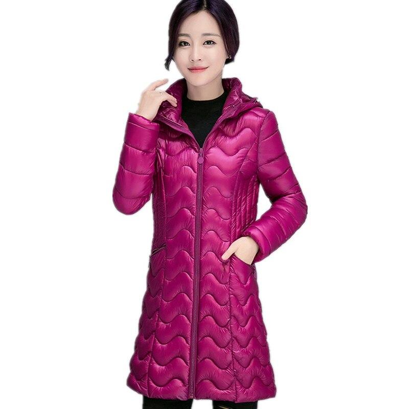 Popular Lightweight Winter Hooded Coat Jacket Women-Buy Cheap ...