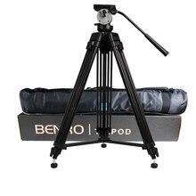 wholesale DHL Pro BENRO KH25N KH-25N Video Camera Tripod Professional Hydraulic Head Magnesium Alloy Tripod+Video Tripods Bag