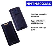 3.7V 2200mAh LI-ION Radio Battery NNTN8023AC For Motorola Wa