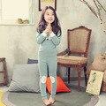 2017 niños muebles para el hogar los niños ropa de niños ropa interior de algodón en la versión coreana de pijamas a variedad de color