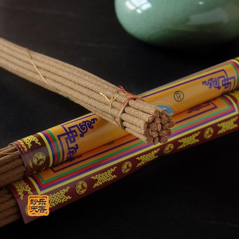 Qualität Tibetischen Spirituellen und Medizinischen Räucherstäbchen, Handarbeit Aus Tibet Nyemo County, 18 Sticks 10