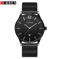 CURREN New Style 8231 Fashion Casual Quartz Watch For Men Complete Calendar Water Resistant Luxury Brand