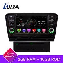 LJDA Android 9,1 автомобильный dvd-плеер для Skoda Octavia 2013 2014 2015 wifi gps навигация 2 Din автомобильный радиоприемник мультимедиа Canbus стерео