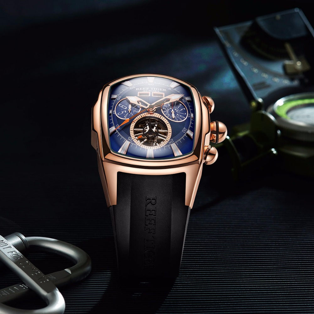 0a75c4c6b0e Relógios Desportivos para homens luminosos relógios tourbillon Material da  Faixa   Borracha
