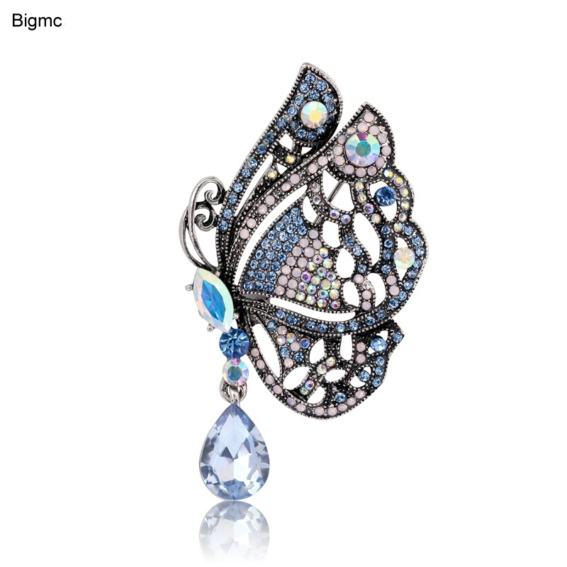Fine butterfly brooch new creative clothing accessories pin spot direct H1193