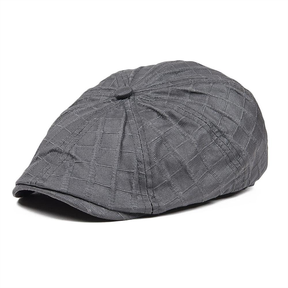 8c4ee185 VOBOOM Oilcloth Cotton Waterproof Flat Cap Men Women Cabbies Summer Newsboy  Gatsby Hat 041