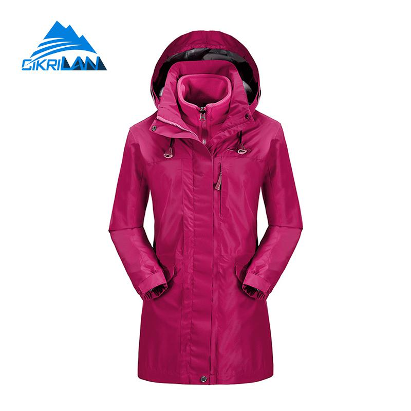 Aliexpress.com : Buy Ladies Winter Hiking Camping Long Coat ...