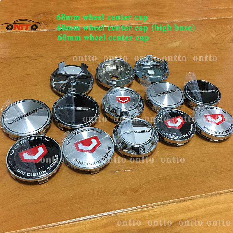 56MM 60MM 65mm 68MM CAP VOSSEN Sticker Emblema Wheel Center Cap Centre Hub Cap Wheel Cover Centro Tapas Llantas Calota Centro