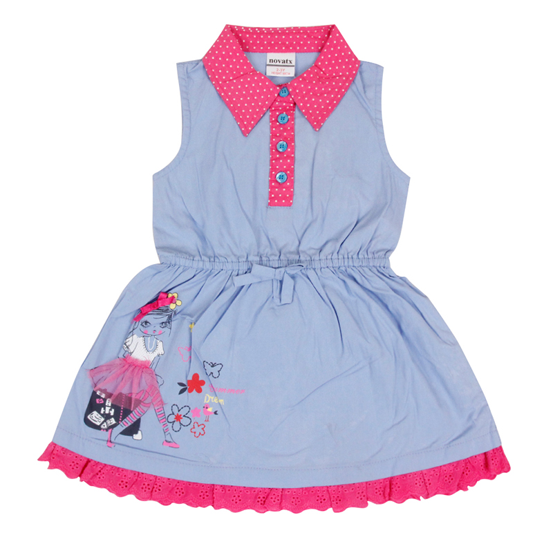 Nova baby girl dresses kids newest children clothes for girls Children's costume princess dress kids clothes baby girl dresses