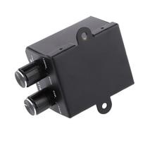 SGC200 Car Audio Subwoofer Bass RCA Level Knob Control Volumn Boss Plate цена