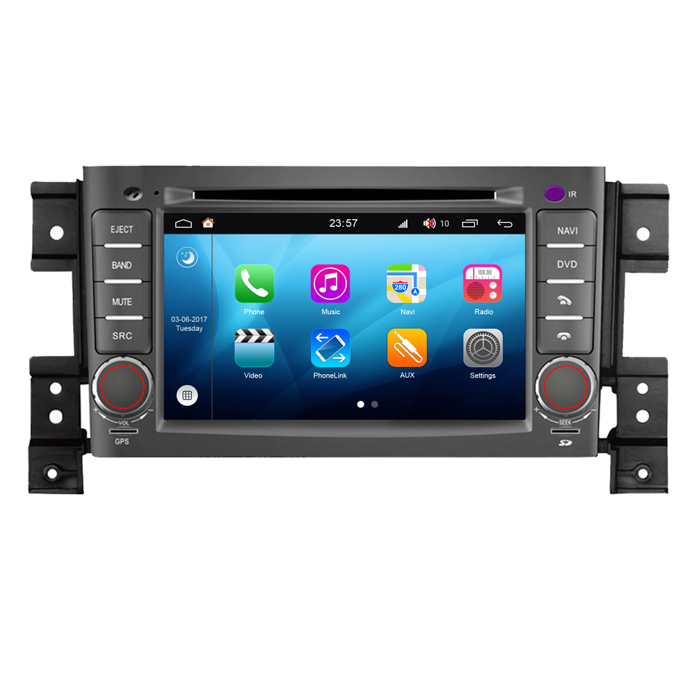 Stéréo multimédia de voiture Android pour Suzuki Vitara/Grand Vitara Radio lecteur CD DVD Navigation GPS système Audio vidéo S200