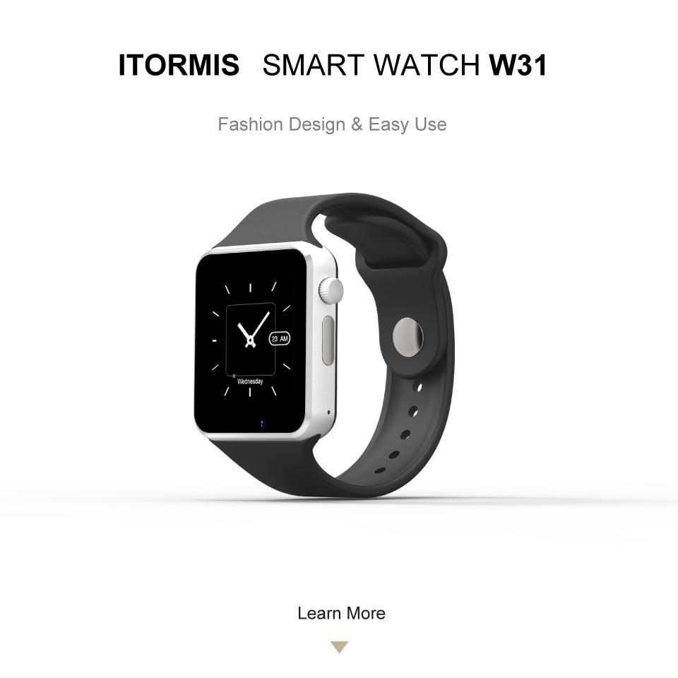 ITORMIS W31 Bluetooth Smart Watch ITORMIS W31 Bluetooth Smart Watch HTB1GnWCbUF7MKJjSZFLq6AMBVXaX