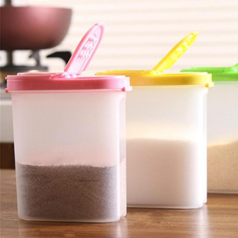 Коробка для хранения пищевых продуктов, прозрачный контейнер, набор С засыпкой, 2 кухонные крышки, герметичные закуски, сушеные фрукты, зерн...